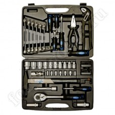 APELAS набор инструмента 56 предметов 12 граней