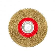 Щетка для дрели 100мм. дисковая (YATO) латунь 4757