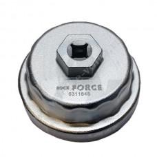 Съемник масляного фильтра АВТОМ 64.5мм 14гр чашка FORSAGE 6311645