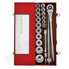 Набор   Force  инструмента   20 пр 3/4 (металл) 19-50 6201-5