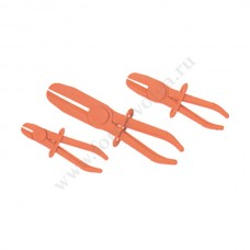 Клещи зажимы для шлангов 3 шт. Ликота АТМ-0074