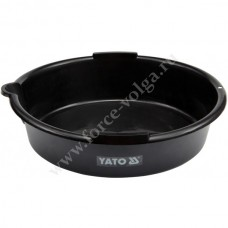 Поддон металл для слива масла 8л . YATO 0699